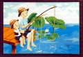 Paint by Number Kit -  Fishing