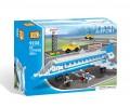 Loz Diamond block Toys - City series, Airport, Passenger Plane