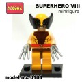 Decool minifigure - Super Hero Series VIII - Wolverine NO PACKING BOX
