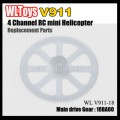 V911 rc helicopter parts - main drive gear