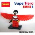 Decool minifigure - Super Heroes series VI, The Falcon