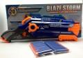 BLAZE STORM Pump Action Soft Bullet gun, 8 DART 2014 Version