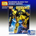 Loz diamond Block Toys - iRobots series, Gundam Frighter 9353