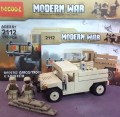 Decool minfigure, Modern War series, M1097A2 Carco Troop