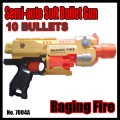 BARRICADE RV-10  Semi auto soft bullet Gun 10 Dart