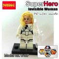 Decool Minfigure, Super Hero series, Fantastic 4 WINTER MODE, Invisible Woman No Package Box