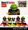 Decool minifigure  Hero 6 series - Full Set