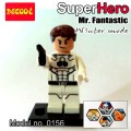 Decool Minfigure, Super Hero series, Fantastic 4 WINTER MODE, Mr. Fantastic No Package Box