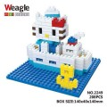 Weagle mini block toys - cartoon & animal - Kitty Marine Cruise