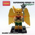 Decool minifigure -Super Heroes series 10, HAWKMAN 0202