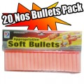 20 number Soft Bullets Pack FREE SHIPPING