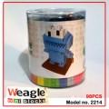 Weagle mini block toys - cartoon & animal - Cookie Monstor