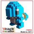 Weagle mini block toys - cartoon & aninmal - Squirtle